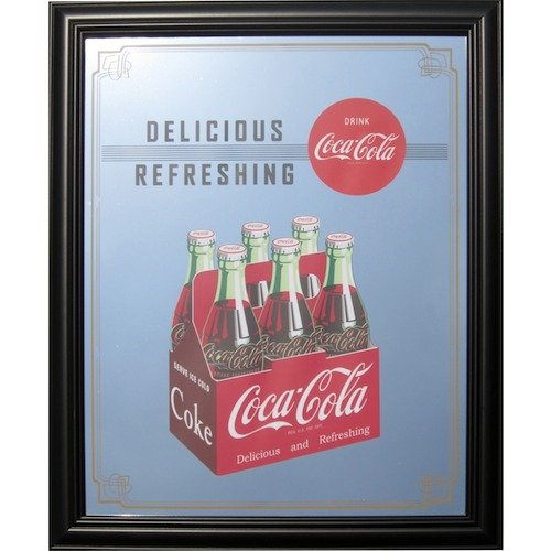 coca-cola PUB MIRROR6 Bottle Pack PJP-008 パブミラー