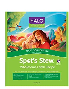 Halo Spot's Stew® Adult Dog, Lamb Recipe, 28-Pounds