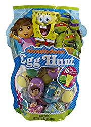 Nickelodeon Cartoon Egg Hunt Eggs with Candy Characters by Frankford Candy