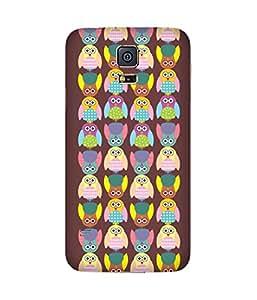 Stripes And Elephant Print-25 Samsung Galaxy S5 Case