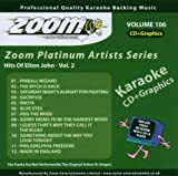 Zoom Karaoke CD+G - Platinum Artists 106: Elton John 2 Zoom Karaoke
