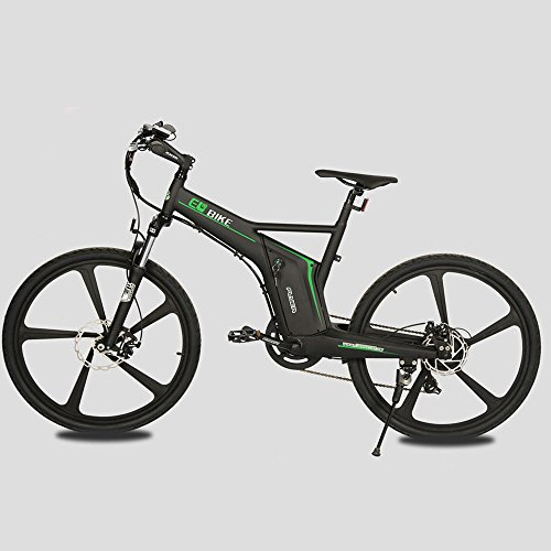 26-Matt-Black-2016-new-style-fasion-man-Electric-Bicycle-EBike