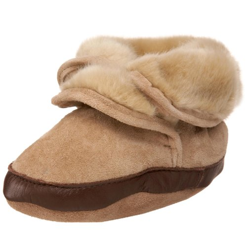Robeez Infant Toddler Cozy Ankle Bootie - baby shoes :  infant shoes baby shoes
