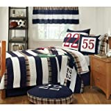 Rugby Quilt Set Size