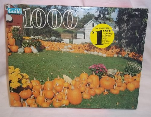 Guild Pumpkin Farm Pownal Vt Jigsaw Puzzle 1000 Pieces New