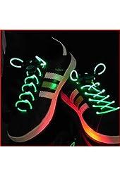 Lemonc 1 pairs of LED Light Up Shoelaces