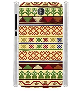 Ethinic Pattern India Soft Silicon Rubberized Back Case Cover for Huawei Honor Holly 2 Plus :: Honor Holly 2+