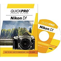 Nikon Df Instructional DVD by QuickPro Camera Guides