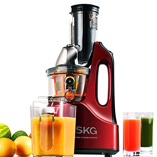 Find Discount SKG New Generation Wide Chute Anti-Oxidation Slow Masticating Juicer (240W AC Motor, 6...