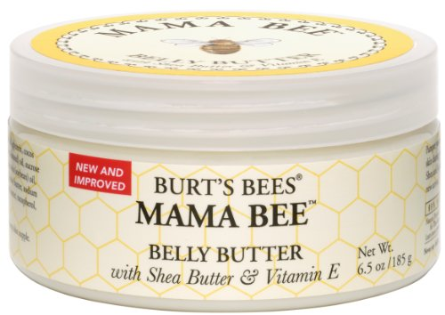 Burt's Bees Mama Bee Belly Butter with Shea Butter and Vitamin E, 6.50 Ounce Jar (Pack of 3)