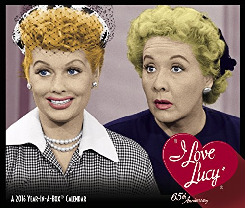 I Love Lucy Year-In-A-Box Calendar (2016)