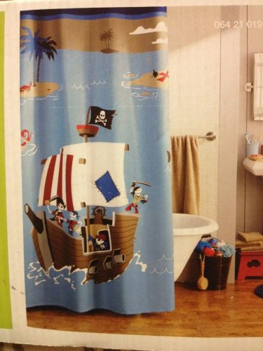 Delicieux Circo Pirate Shower Curtain   Shower Curtains Outlet Shower Curtains Outlet