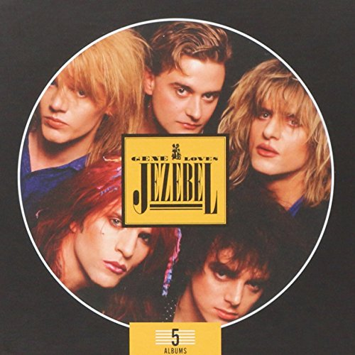 CD : GENE LOVES JEZEBEL - 5 Album Box Set (5 Discos)