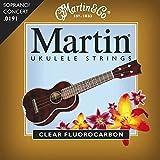 Martin マーチン ウクレレ弦 M600 CLEAR FLUOROCARBON SOPRANO/CONCERT .0191-.0216