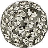 Piercing-Kugel Schmuck Ball Multi Kristalle Black Diamond | 4, 5 und 6 mm