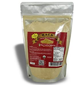 Maca Powder Organic Raw, Increase Energy and Stamina, 1lb Maca Root Powder, Satisfaction Guaranteed.
