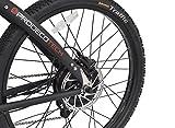 ProdecoTech-Phantom-X-R-V5-36V600W-8-Speed-Electric-Bicycle-14Ah-Samsung-Li-Ion-Matte-Black-18One-Size