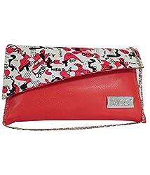 Adiari Fashion Ethnic Burlywood Colored Jute Potli Bag for women