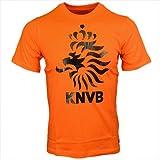 ナイキ ジュニア オランダ コア Tシャツ セイフティオレンジ×ブラック