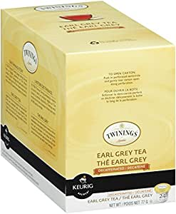 Twinings Earl Grey Tea, Keurig K-Cups, 24 Count
