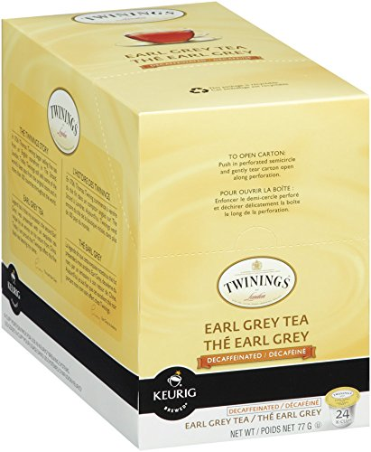 Twinings Earl Grey Decaf Tea, Keurig K-Cups, 24 Count (Earl Grey Decaf Tea Keurig compare prices)