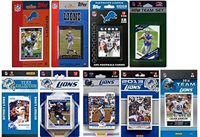 NFL Detroit Lions Licensed Trading Card Team Set
