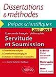 Servitude et Soumission Dissertations...