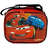 "Disney CARS ""Lightning McQueen"" Rectangle Lunch Bag Box with Strap Car Movie"