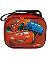 """Disney CARS """"Lightning McQueen"""" Rectangle Lunch Bag Box with Strap Car Movie"""