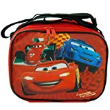 Disney CARS Lightning McQueen Rectangle Lunch Bag Box with Strap Car Movie