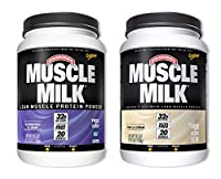 MuscleMilk Blueberries & Crème 2.47 Pound/Vanilla Crème 2.47 Pound (1 of each) from CytoSport Muscle Milk