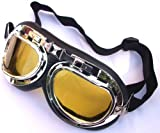 MOTO RAPIDE LOW LIGHT - NIGHT - SPITFIRE CLASSIC AVIATOR MOTORCYCLE GOGGLES