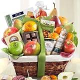 Golden State Fruit Gourmet Abundance Gift Basket