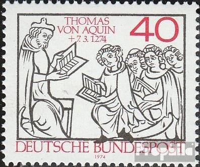 BRD (BR.Deutschland) 795 (kompl.Ausg.) FDC 1974 Thomas von Aquin (Briefmarken für Sammler)