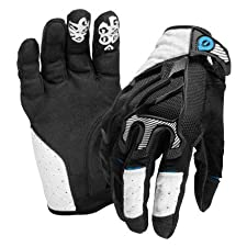 SixSixOne Evo Gloves (White, X-Large)