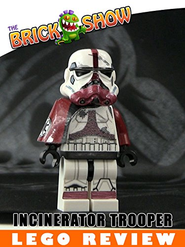 Custom LEGO Star Wars Incinerator Stormtrooper Minifigure Review