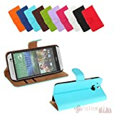 Bralexx Book-Style Protective Case Cover for Sony Xperia Z1 Compact Z2 HTC One M8 Samsung Galaxy S3 Mini S5