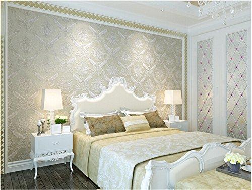 ufengke-romantico-extragrueso-no-tejido-patron-de-flores-3d-nacarado-papel-pintado-mural-para-dormit