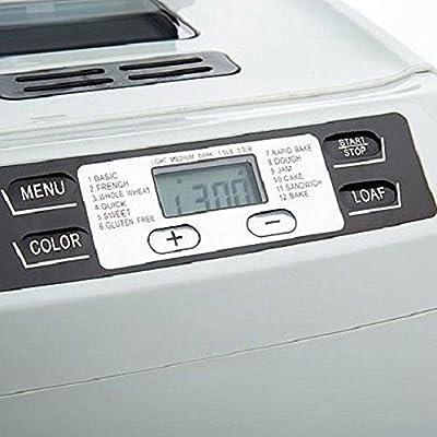 Wolfgang Puck 550-Watt - 2lb. Programmable Electronic Breadmaker - Bake, Cook