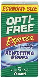 Opti-Free Express Rewetting Drops, 2/3 fl Ounce Bottle