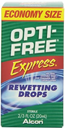 Opti-Free Express Rewetting Drops 2/3 fl Ounce Bottle