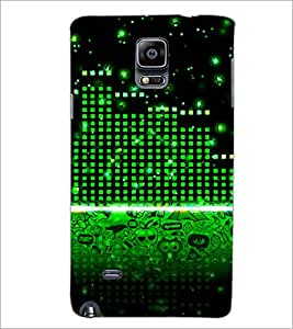 PrintDhaba Abstract Image D-3906 Back Case Cover for SAMSUNG GALAXY NOTE 2 (Multi-Coloured)