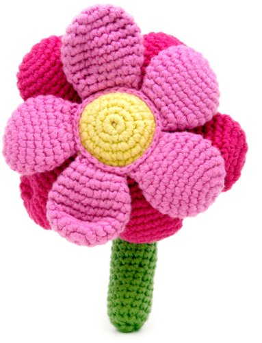 Flower Rattle - Pink - 1