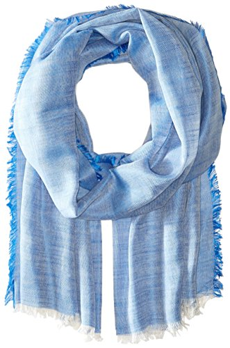 Michael Stars Women's Rock Solid Scarf with Raw Edge, Corsica, One Size (Michael Stars Raw Edge compare prices)