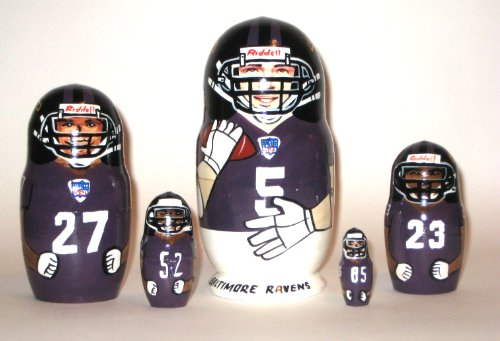 Baltimore Ravens * NFL * or any other sport team * 5 pcs / 6 in