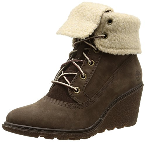 Timberland Ek Amston Roll Top, Boots compensées femme