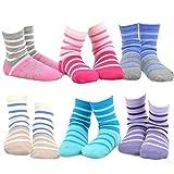 TeeHee Kids - Calcetines - para niña Multicolor 70681 12-18 Meses