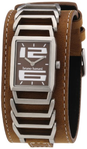 Bruno Banani Women's Quartz Watch BR21049 with Leather Strap