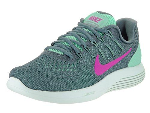 nike-womens-lunarglide-8-green-glow-fire-pink-hst-cnn-running-shoe-95-women-us