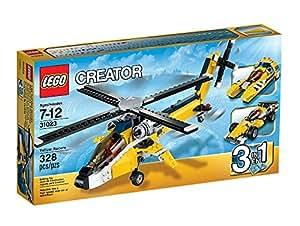 Lego Creator - 31023 - Jeu De Construction - Les Bolides Jaunes